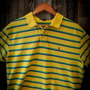 Polo by Ralph Lauren yellow and green polo